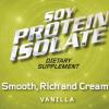 Soy Protein Isolate Vanilla 25 lb